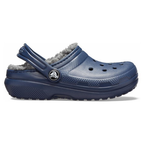 Crocs Classic Lined Clog K Navy/Charcoal