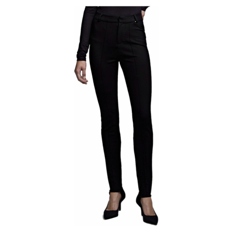 Černé elastické kalhoty - KARL LAGERFELD