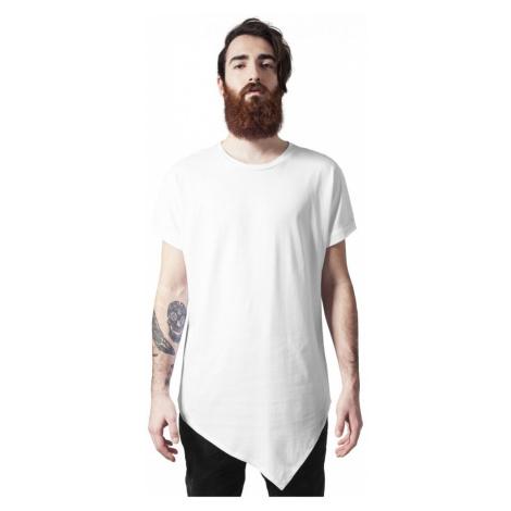 Asymetric Long Tee - white Urban Classics