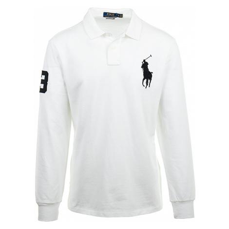 Ralph Lauren pánské polo tričko bílé RL28