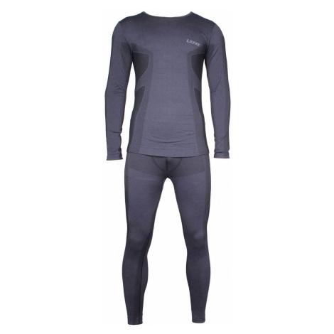 Merino MEN pánský funkční set barva: černá;velikost oblečení: S-M Lenz