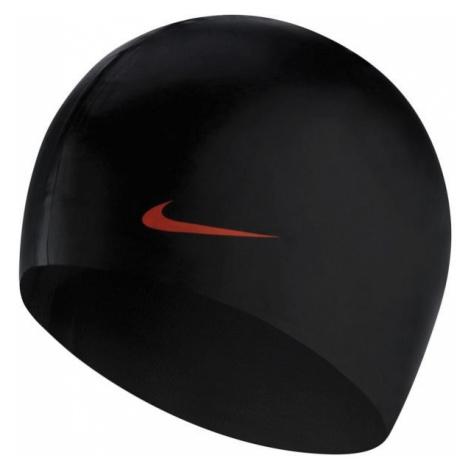 Nike SOLID SILICONE černá - Plavecká čepice