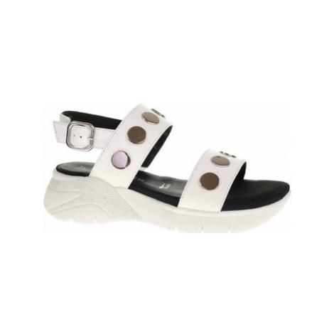 Tamaris Dámské sandály 1-28217-24 white Bílá