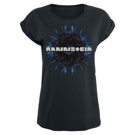 Rammstein Herzeleid Blume Dámské tričko černá