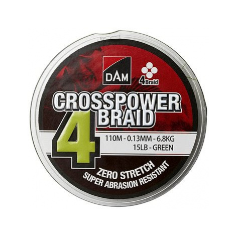 DAM Crosspower 4-Braid 150m Green