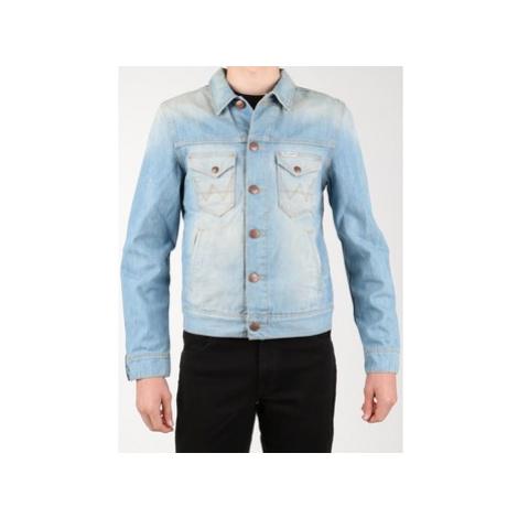 Wrangler Denim Jacket W458QE20T Modrá