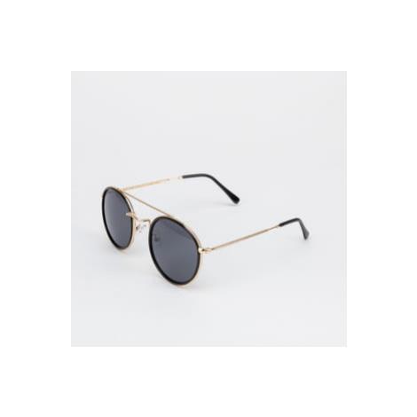 Urban Classics Sunglasses Palermo zlaté / černé