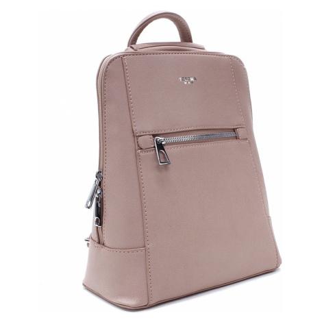 Růžový městský dámský batoh Maritza Mahel