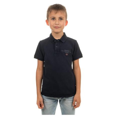 Napapijri chlapecké tričko černé