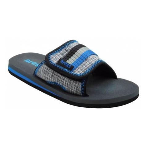 Aress ARADO černá - Dětské pantofle