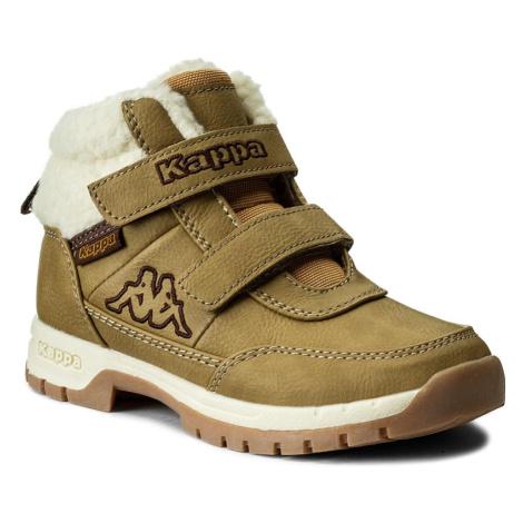 Turistická obuv KAPPA - Bright Mid Fur K 260329K Beige/Offwhite 4143