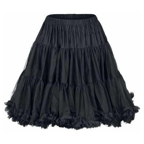 Banned Alternative Walkabout Petticoat Sukně černá
