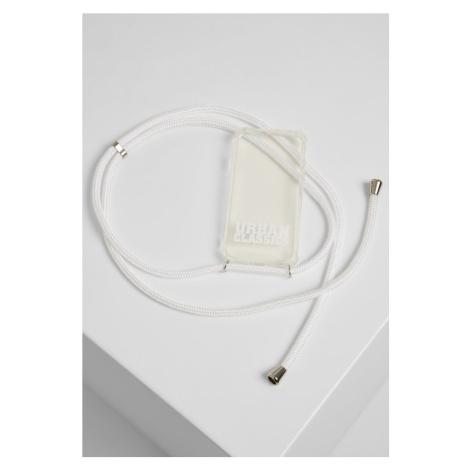 I Phone 8 Handy Necklace - transparent/white Urban Classics