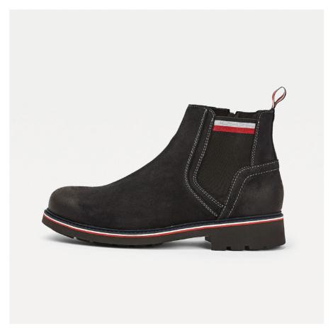 Tommy Hilfiger pánské tmavě modré zimní boty