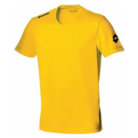 Lotto JERSEY TEAM EVO JR žlutá - Dětský fotbalový dres