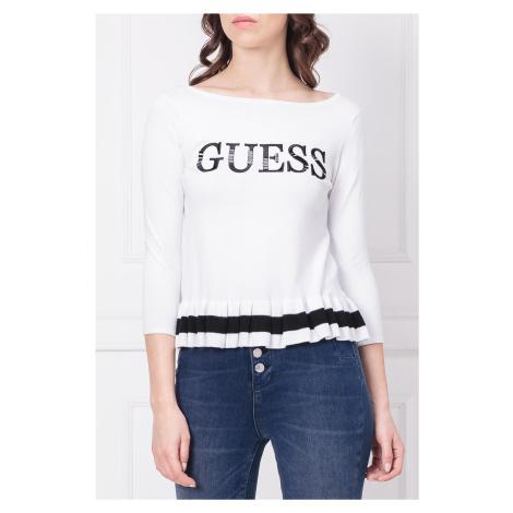 Bílý svetr - GUESS