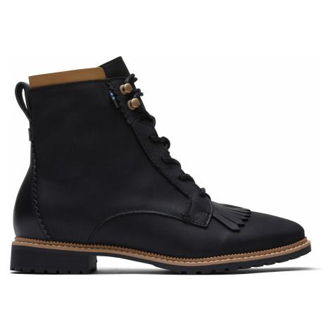 Black Leather Women Nolita Boot Toms