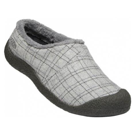 KEEN HOWSER WRAP SLIDE W Dámská zimní obuv 10007927KEN01 grey felt/plaid