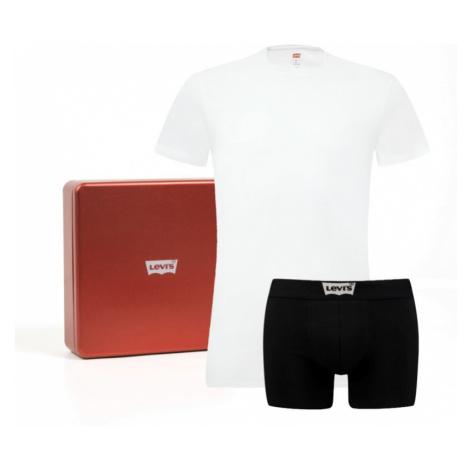 Triko a boxerky Levi´s® bílo-černé