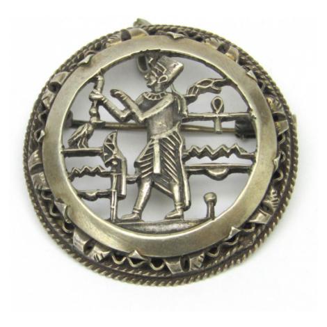 AutorskeSperky.com - Stříbrná brož - S2731