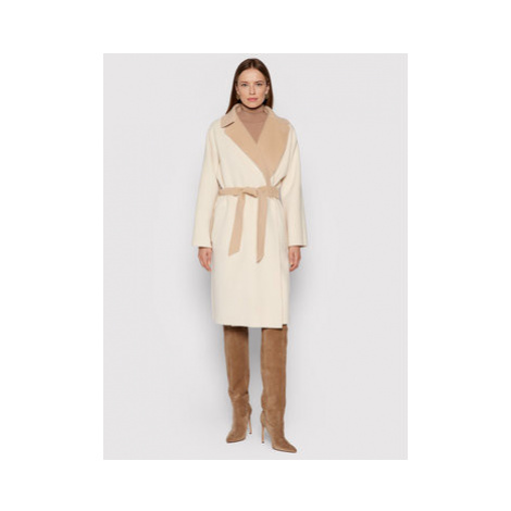 Vlněný kabát Weekend Max Mara