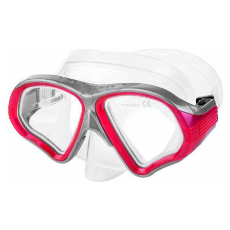 Spokey ZENDA Dámská maska na šnorchlování