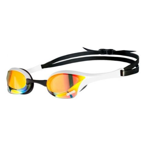 Arena COBRA ULTRA SWIPE MIRROR bílá - Plavecké brýle