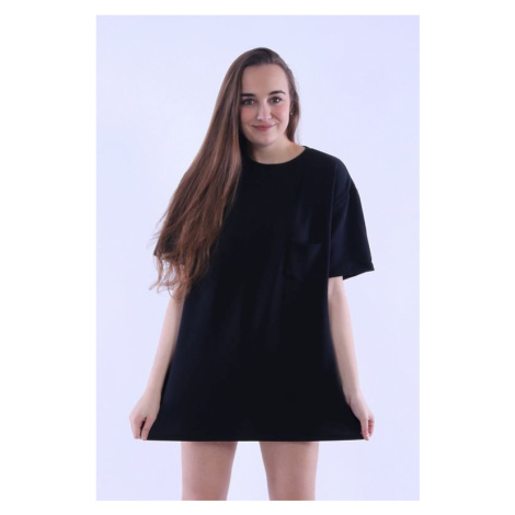 Dámské oversize tričko Stella černá Nelly