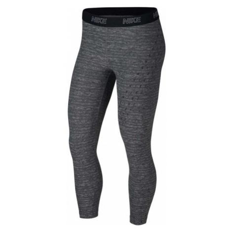 Nike CROP VCTY WRAP GRX tmavě šedá - Dámské sportovní legíny