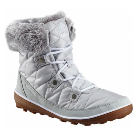 Columbia HEAVENLY SHORTY CAMO OH bílá - Dámská outdoorová obuv