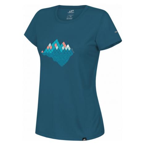 Dámské tričko Hannah Corey II moroccan blue