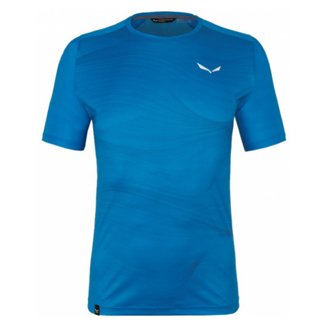 Pánské tričko Salewa X-Alps Print Cloisonne Blue