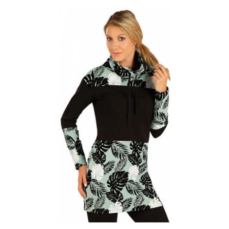Dámské mikinové šaty Litex 7A322 | tisk