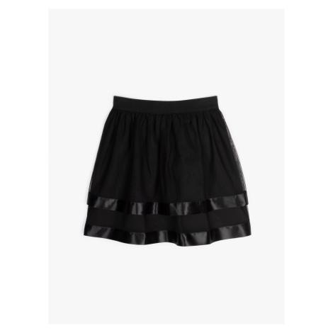 GATE Tylová mini sukně