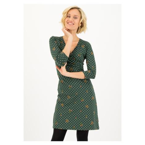 Bavlněné šaty s dlouhým rukávem Blutsgeschwister Lískový oříšek