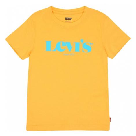 LEVI'S Tričko žlutá / tyrkysová Levi´s