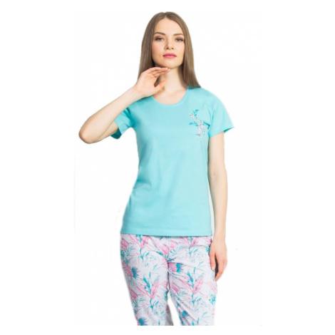 Dámské pyžamo kapri Vienetta Secret Jiřina | světle růžová