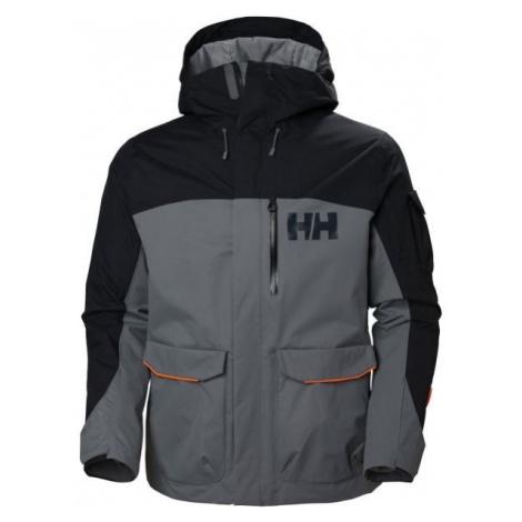 Helly Hansen FERNIE 2.0 JACKET šedá - Pánská lyžařská/snowboardová bunda