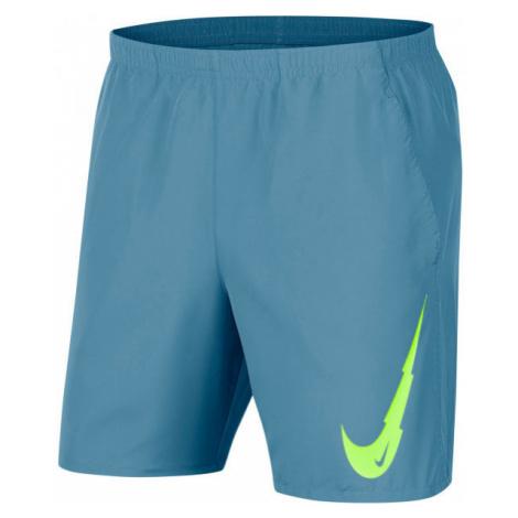 Nike RUNNING SHORTS modrá - Pánské běžecké šortky