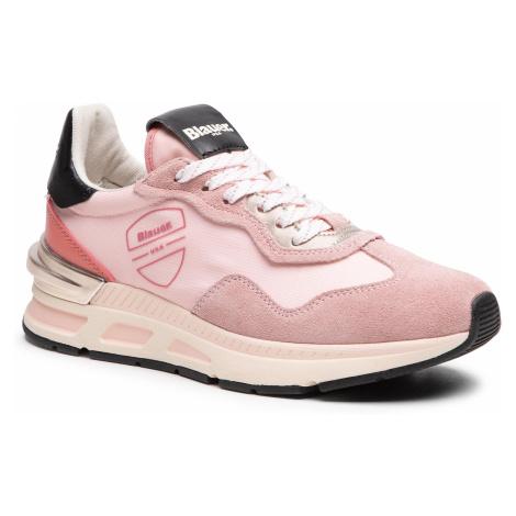 Sneakersy BLAUER - S1HILESXL02/NES Pink
