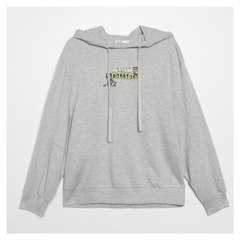 Cropp - Dámská mikina - Světle šedá