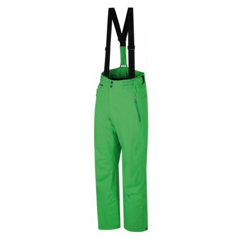 HANNAH Stig Pánské lyžařské kalhoty 216HH0152HP04 Classic green
