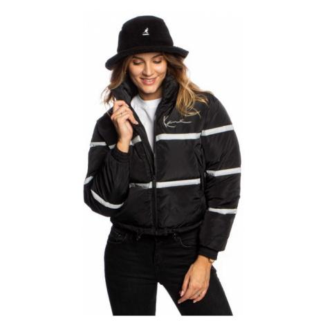 Karl Kani Chest Signature Short Puffer Jacket black