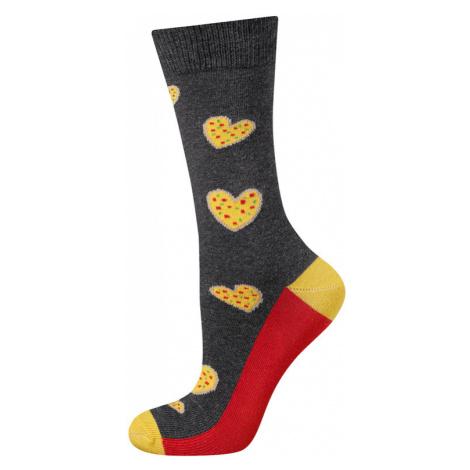 Ponožky SOXO GOOD STUFF - Pizza, srdce