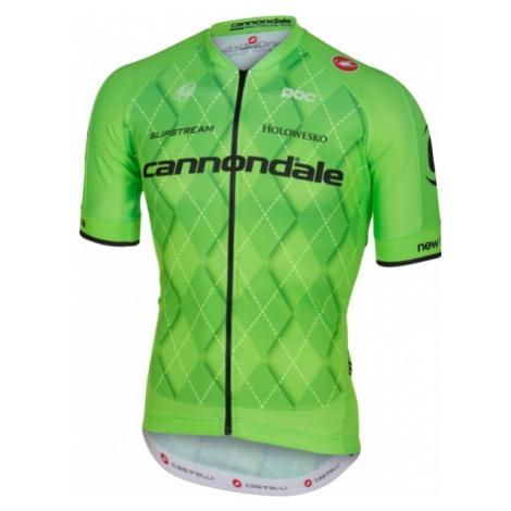 Castelli TEAM 2.0 JERSEY FZ zelená - Pánský cyklistický dres