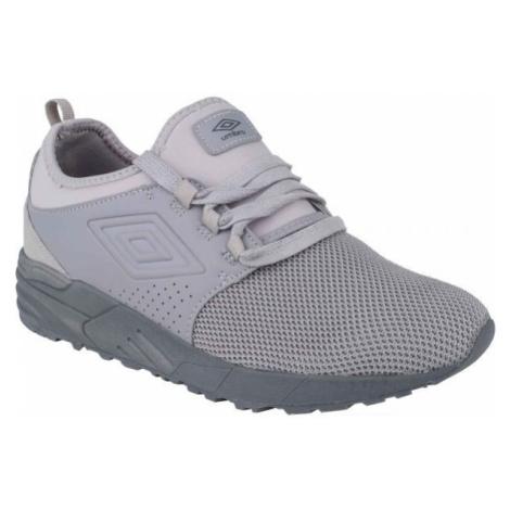 Umbro ASPIN II tmavě šedá 11.5 - Pánská volnočasová obuv