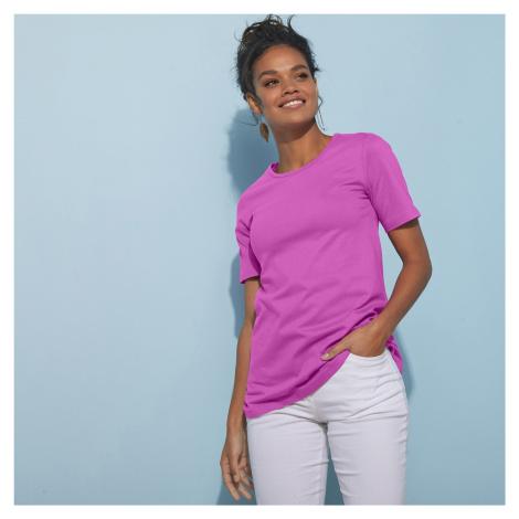 Blancheporte Tričko s krátkými rukávy purpurová