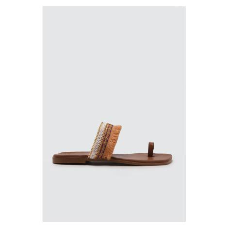 Trendyol Taba Women's Slippers