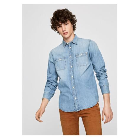 Pepe Jeans pánská denim košile Portland