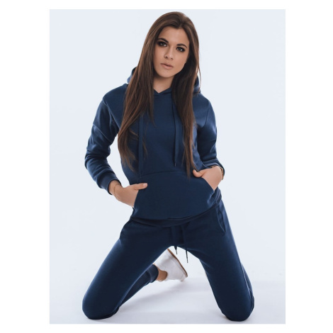 BASIC women's hooded sweatshirt navy blue BY0762